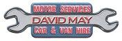 David May Motor Services logo