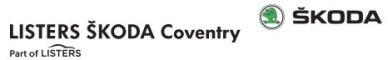 Listers Skoda Coventry logo