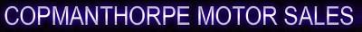 Copmanthorpe Motor Sales logo