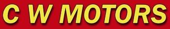 C W Motors logo