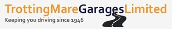 Trotting Mare Garage logo